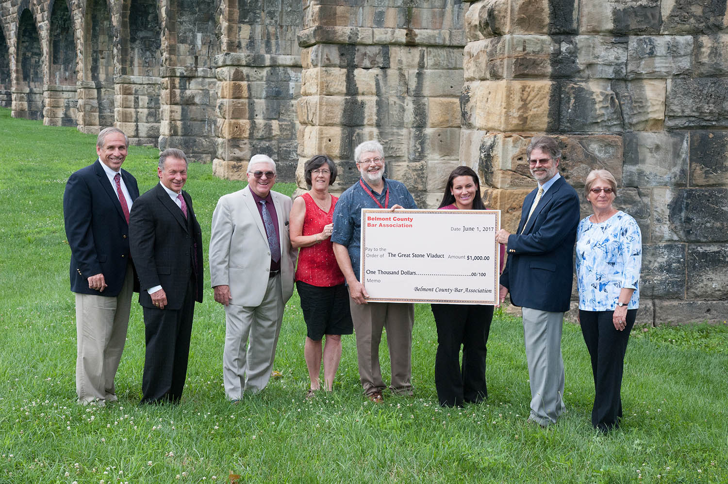 Belmont County Bar Association donation