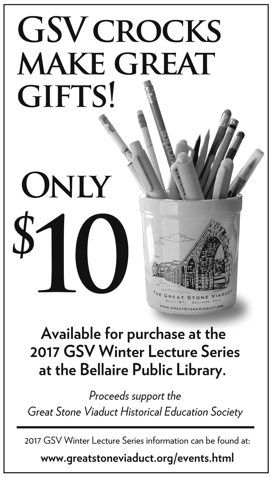 GSV Crocks make great gifts