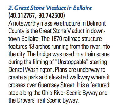 Great Stone Viaduct in Bellaire
